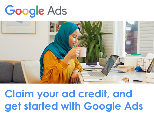 Claim Your Ad Credit