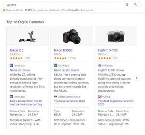 Google Shopping Camera