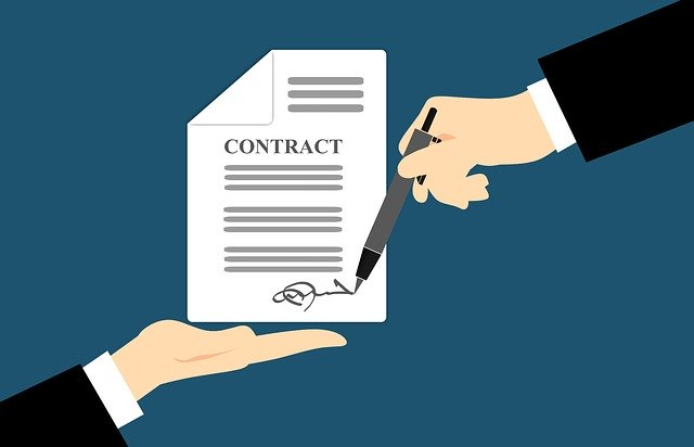 Contract agreement by PPC agency
