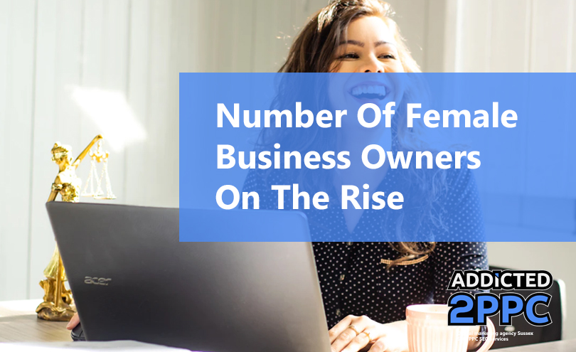 Number of women owned businesses is on the rise